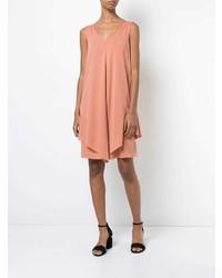 Vestido amplio rosado de Fabiana Filippi
