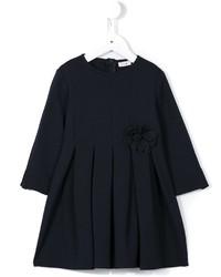 Vestido azul marino de Il Gufo