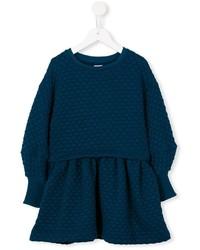 Vestido azul marino de No Added Sugar