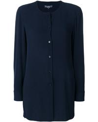 Vestido azul marino de Salvatore Ferragamo