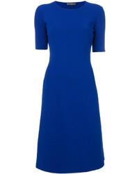 Vestido azul de Salvatore Ferragamo