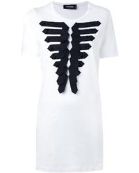Vestido blanco de Dsquared2