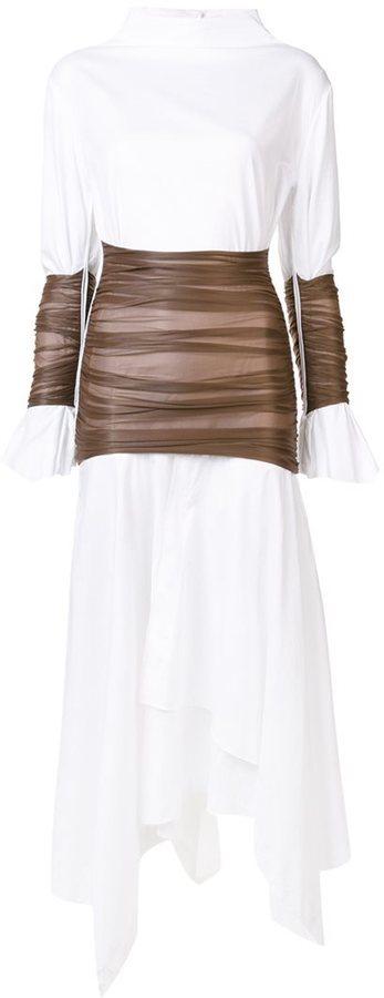Vestido blanco de Loewe