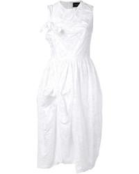 Vestido blanco de Simone Rocha