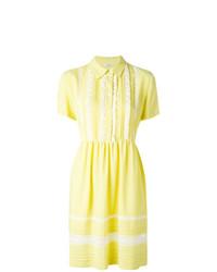 Vestido camisa amarilla de P.A.R.O.S.H.