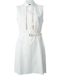 Vestido camisa blanca de Dsquared2