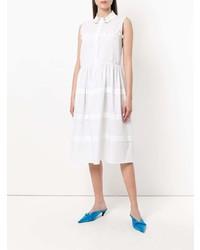 Vestido camisa blanca de Vivetta