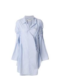 Vestido camisa celeste de Junya Watanabe