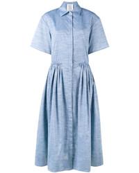 Vestido Camisa Celeste de Rosie Assoulin