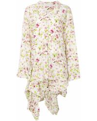 Vestido camisa con print de flores blanca de Faith Connexion