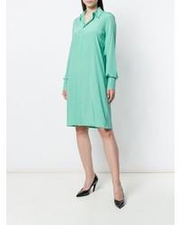 Vestido camisa en verde menta de A.F.Vandevorst