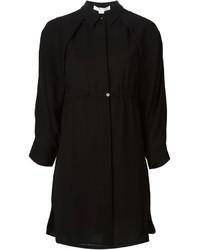 Vestido camisa negra de Alexander Wang