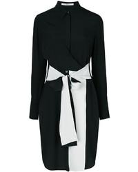 Vestido camisa negra de Givenchy