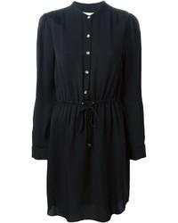 Vestido camisa negra de MICHAEL Michael Kors