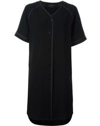 Vestido Camisa Negra de Rag & Bone