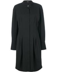 Vestido camisa negra de Theory
