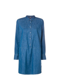 Vestido camisa vaquera azul de Tommy Jeans