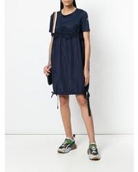 Vestido casual azul marino de Moncler