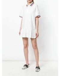 Vestido casual blanco de Moncler
