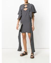 Vestido casual gris de JW Anderson