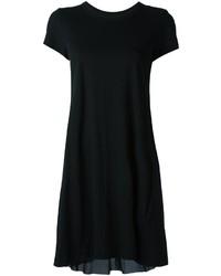 Vestido casual negro de Sacai