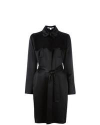 Vestido cruzado negro de Dvf Diane Von Furstenberg