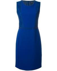 Vestido de Encaje Azul de Armani Jeans