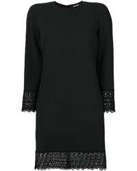 Vestido de encaje negro de Dsquared2
