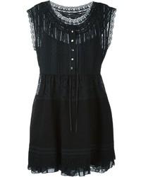 Vestido de encaje negro de Marc by Marc Jacobs