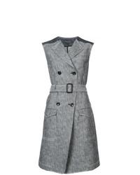 Vestido de Esmoquin Gris de Derek Lam