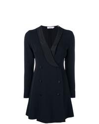 Vestido de esmoquin negro de A.L.C.