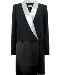 Vestido de esmoquin negro de Lanvin