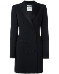 Vestido de esmoquin negro de Moschino