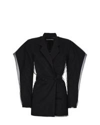 Vestido de esmoquin negro de Y/Project