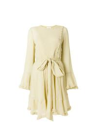 Vestido de Fiesta Amarillo de Chloé