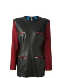 Vestido de Fiesta de Cuero Negro de Jean Paul Gaultier Vintage