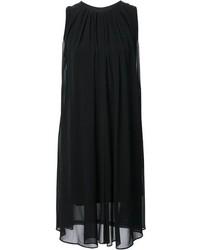 Vestido de Fiesta de Gasa Negro de Unconditional