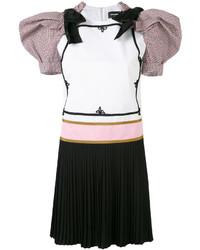 Vestido de lana blanco de Dsquared2