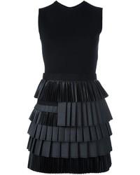 Vestido de lana negro de Dsquared2