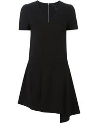 Vestido de lana negro de Marc by Marc Jacobs