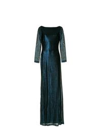 Vestido de noche azul marino de Dsquared2