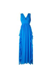 Vestido de noche azul de MSGM