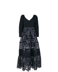 93d7f3edd9 Comprar un vestido de encaje bordado negro  elegir vestidos de ...