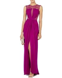 Combinar vestido de fiesta morado