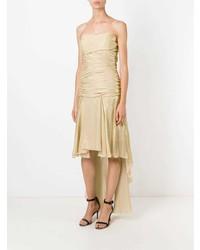 Vestido de Noche Dorado de Jean Louis Scherrer Vintage