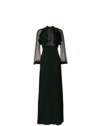 Vestido de noche negro de Dsquared2