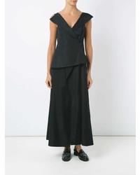Vestido de Noche Negro de Uma Raquel Davidowicz