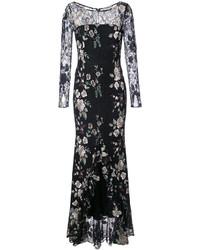 Vestido de Noche Negro de Zac Posen