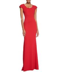 Vestido de noche rojo original 1395087