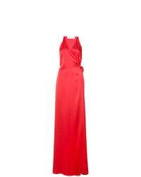Vestido de Noche Rojo de Dvf Diane Von Furstenberg